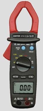 CENTER212真有效值交直流钳表|台湾群特CENTER-212交直流电流钳表 CENTER212