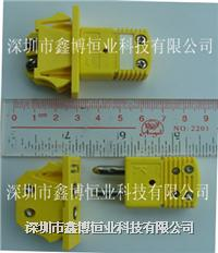 UPJ-K-F热电偶插头+OSTW-K-M热电偶插座|美国omega K型热电偶端子 UPJ-K-F+OSTW-K-M