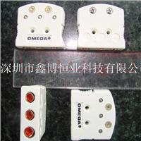 OTP-U-F热电偶插座,U型,白色。三孔热电偶插座。  OTP-U-F
