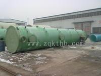 热水锅炉除尘脱硫设备(脱硫塔 布袋除尘器)