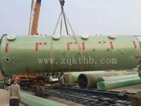 广西桂林旋流板脱硫塔 砖厂脱硫塔生产厂家