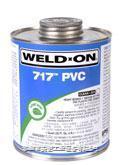 717 PVC管道胶粘剂 717 PVC