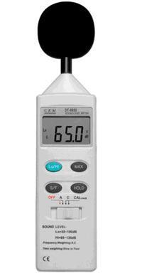 噪音计的原理_美国艾示科extech大屏幕噪声计sl130声级计 噪音计sl 130