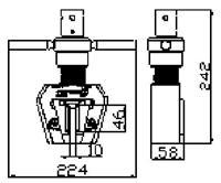 楔型夾具 YG-J009-2T