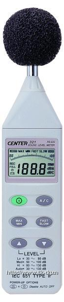 CENTER-321數字式噪音計 CENTER-321數字式噪音計