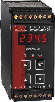 魏德米勒信号报警器 UCV/AR 电流/电压信号报警器