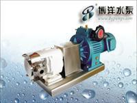 不锈钢转子泵/不锈钢自吸泵/不锈钢离心泵/上海华通集团博洋水泵  LB系列不锈钢转子泵