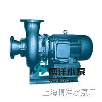 卧式无堵塞直联式排污泵 PW型
