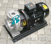 供应工博牌ZS型不锈钢卧式单级离心泵,离心泵 ZS型
