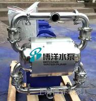 DBW型卫生级电动隔膜泵 食品级电动隔膜泵 啤酒 厂专用气动隔膜泵 DBW型