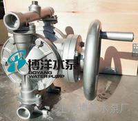 SBY型手动铝合金隔膜泵 手摇式铝合金隔膜泵 力道大,通径大 SBY型