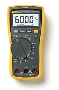 非接触式电压测量万用表 Fluke 117C (福禄克)