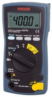 新标准型数字万用表 CD770|日本三和