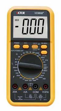 数字万用表 VC9808+