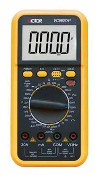 数字万用表 VC9807A+