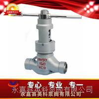 焊接手動油田閥 J6B6Y