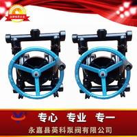 不銹鋼手動隔膜泵