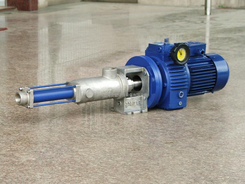 兴龙加药螺杆泵(絮凝剂) 螺杆泵 单螺杆泵 加药螺杆泵