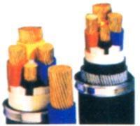 煤矿用聚氯乙烯绝缘细钢丝铠装聚氯乙烯护套电力电缆