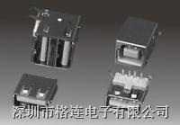 USB連接座 usb A type