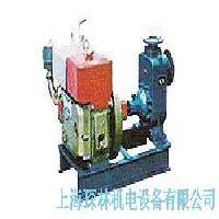 青銅滑輪及離合器驅動泵
