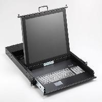 SMK-520 1U上架工業鍵盤顯示器
