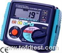 日本共立数字漏电开关测试仪5406A  日本共立数字漏电开关测试仪5406A