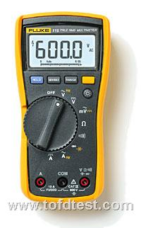 Fluke 115C 现场维护技术人员用万用表 Fluke 115C 现场维护技术人员用万用表