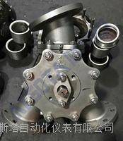 Q42F型 Y型球阀 Y型三通球阀 150°不锈钢三通球阀 120°三通球阀
