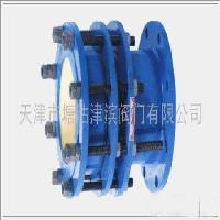 铸钢四片式法兰限们伸缩器