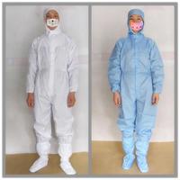 防静电连体服装,防静电连体衣,无尘室净化衣 深圳志瑞康