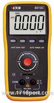 6013C电容表 VC 6013C 电容表 上海总代理