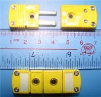 热电偶插头插座|美国omega黄色热电偶连接器 SMPW-K-MF