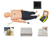 高级多功能成人综合急救训练模型(ACLS高级生命支持、嵌入式系统) YIM/ACLS850