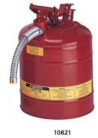 红色钢制安全罐 10807