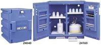 蓝色聚乙烯安全柜 24040