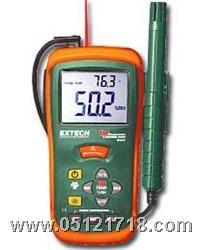 温湿度计+红外测温仪RH101