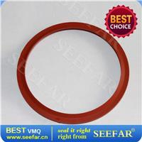 订制硅橡胶V型密封圈
