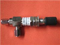 ZXF-1型气体调节针型阀 ZXF-1