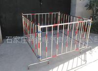 不锈钢伸组合式伸缩围栏