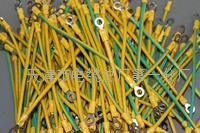 光伏发电双色接地线6平方ZR-BVR全长150毫米