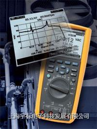 真有效值工业用记录多用表 FLUKE289