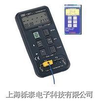 K/J 记忆式温度表TES1307 TES-1307