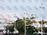 交通道路太阳能风光互补路灯