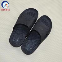 厂家直销黑色防靜電拖鞋 SPU