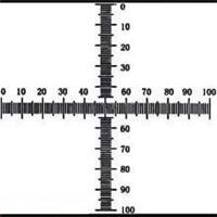 C7型0.1坐标形目镜测微尺10/100 C7型