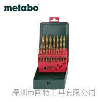 麦太保HSS-TIN高速钢镀钛麻花钻头19支1-10mm钻头套装原装正品 1-10mm