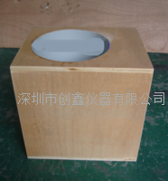 深圳创鑫UL1993温升测试木盒  UL1993温升测试筒
