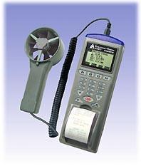 列表式风速,风温,风量,湿度,露点仪