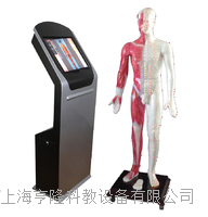 55寸多媒体人体针灸穴交互数字平台 ZKWAT-55M